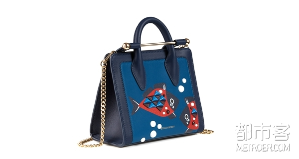 The Strathberry Nano Tote - Embellished Fish